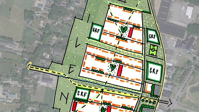 Groen krijgt de ruimte op eerste schetsen Woonakker: 'Zeshonderd woningen bouwen halen we zo niet'