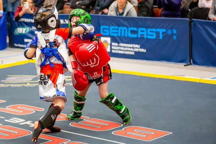 Release the Beast in Hoogerheide laat zien hoe populair kickboksen is.