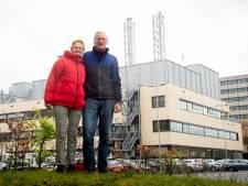 En toen opeens... was het eindelijk stil rond het ziekenhuis in Apeldoorn