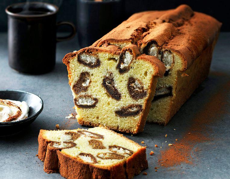 Tiramisu-cake Beeld Eric van Lokven