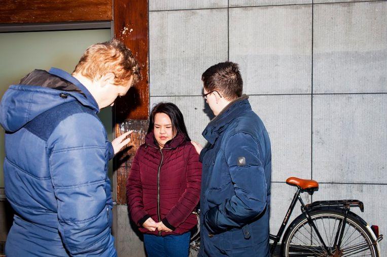 Daniël van Deutekom (links).  Beeld Renate Beense