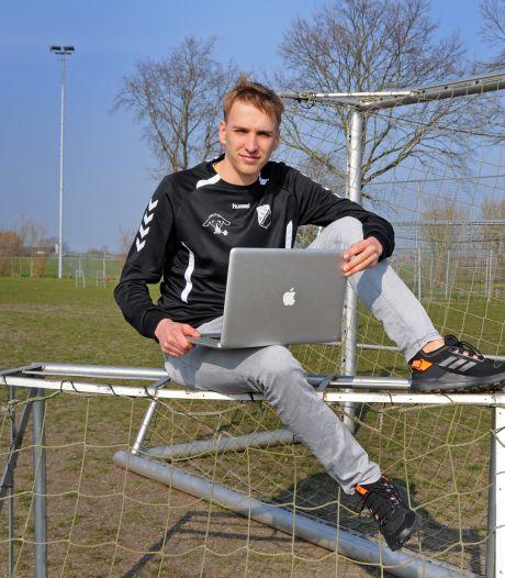 Spits van Brouwershaven fotoshopt voor platform 433 en zelfs FCBarcelona