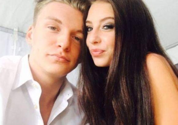 Arne Erauw (20) en Roxie Lubben (20) vormden acht jaar lang een koppel.