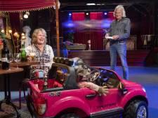 Het Mystiek Theater in Enschede is coronaproof: je drankjes krijg je via een trapauto