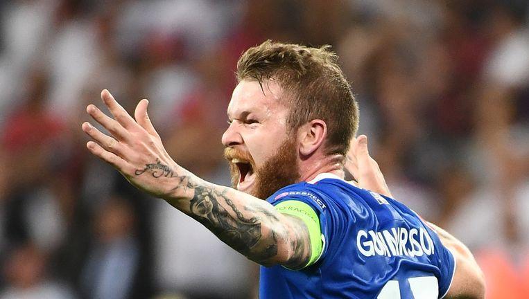 IJsland verraste door Engeland uit te schakelen. Beeld afp