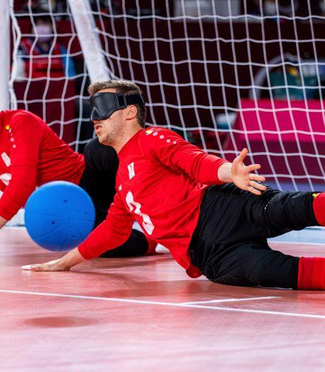 Goalball: les Belgian Bulls qualifiés pour les quarts malgré leur revers contre l'Ukraine