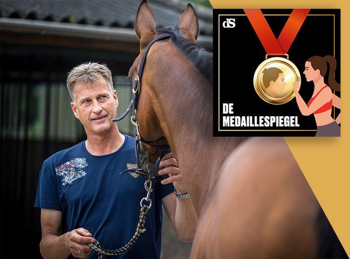 Springruiter Marc Houtzager in podcast De Medaillespiegel.