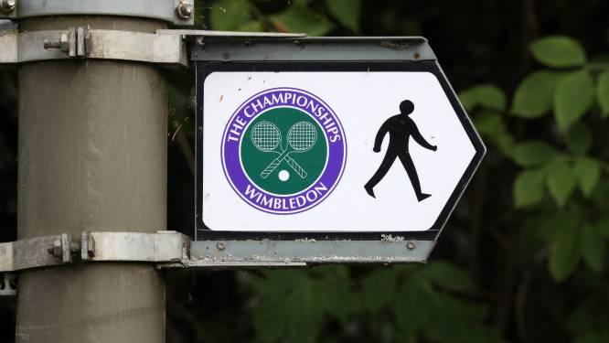 Pas vandaag (hopelijk) Belgen in actie: eerste kwalificatiedag Wimbledon valt volledig in het water