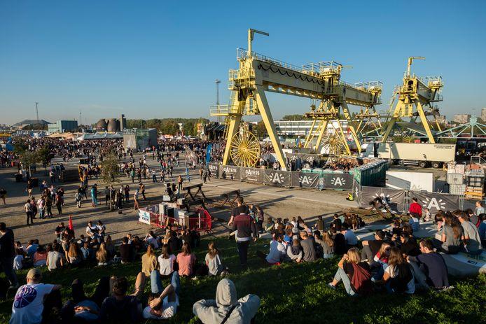 In 2018 vond het Antwerpse studentenfestival Studay voor de eerste keer plaats op Park spoor Oost.