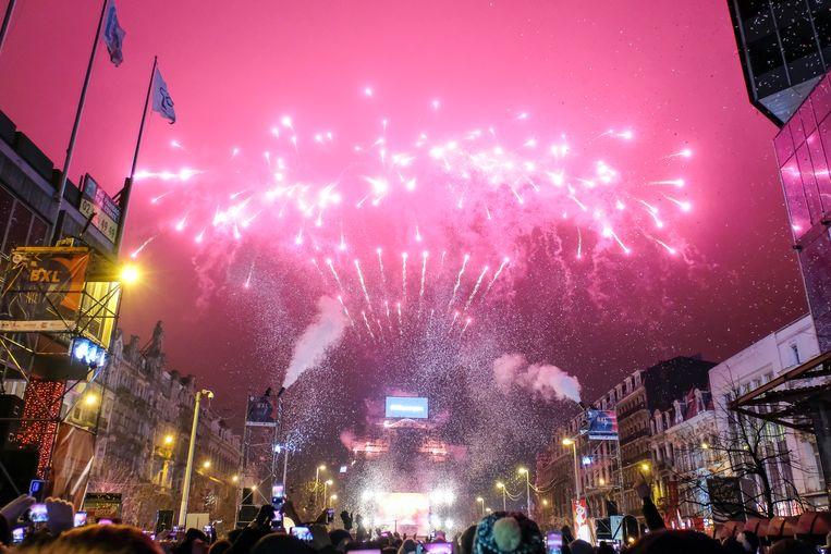Nieuwjaar in Brussel