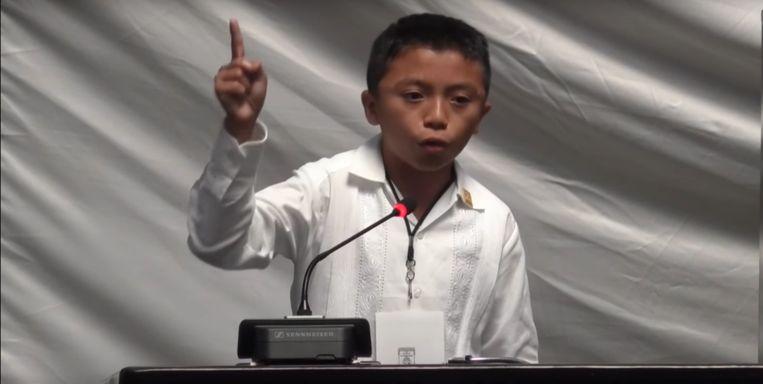 Ángel Jacinto Noh Tun. Beeld youtube