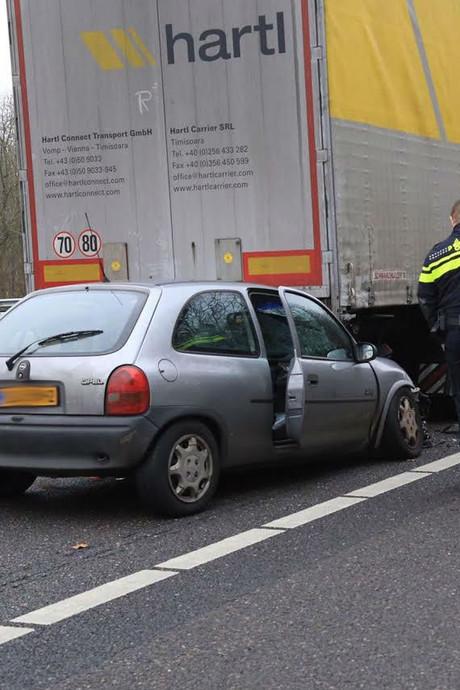 VIDEO   A67 bij Asten weer open na ongeluk