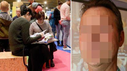 Pedofiele ex-leraar betast schoolmeisje op Boekenbeurs