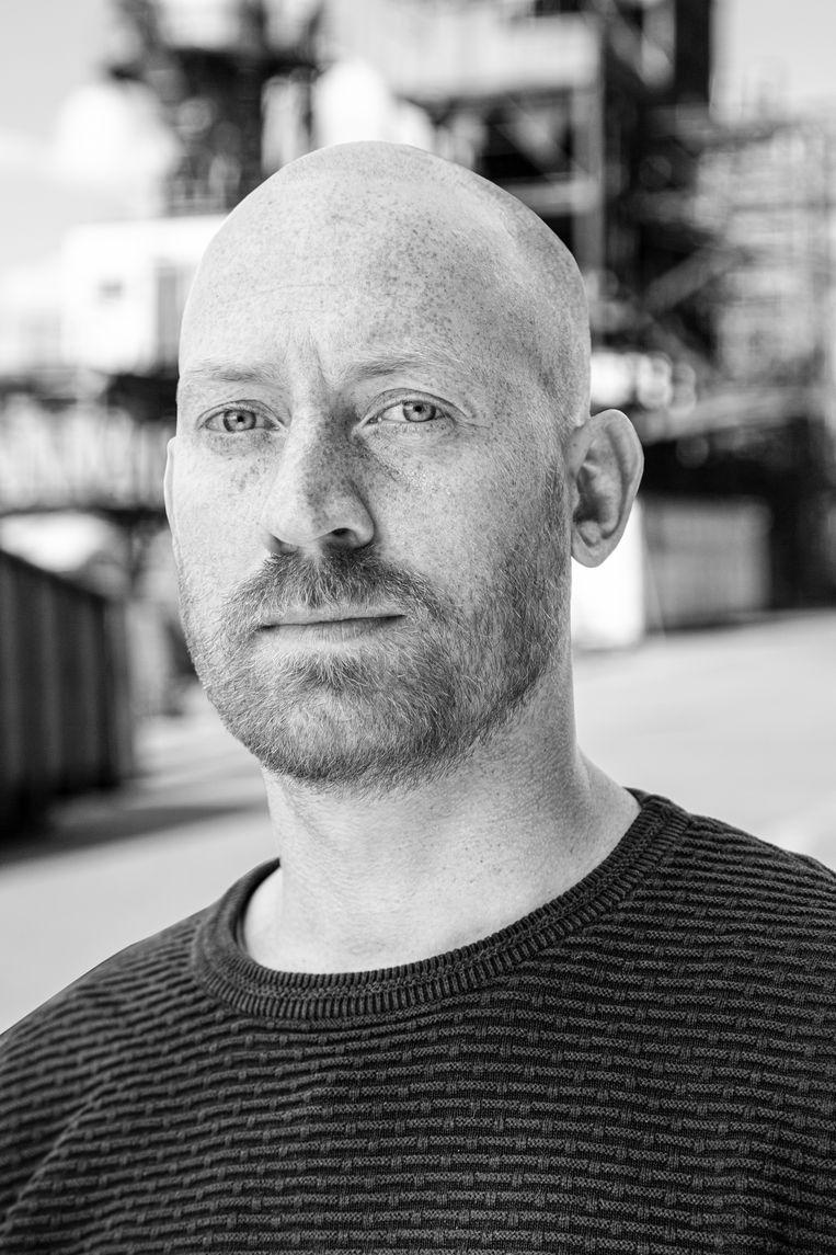 David Stam, documentaire- en filmmaker van Ruwe Diamanten. Beeld Suzanne Ophof
