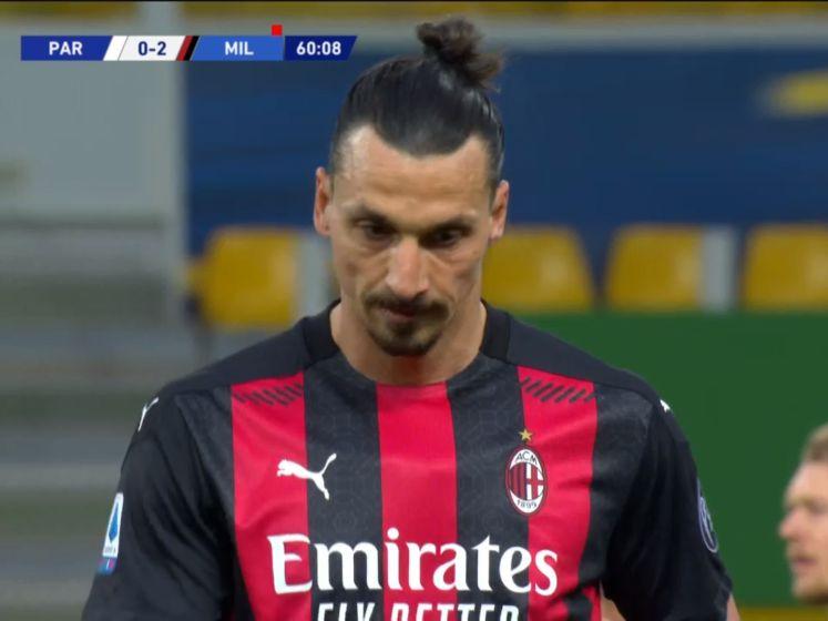 Zlatan krijgt direct rood na commentaar op scheidsrechter