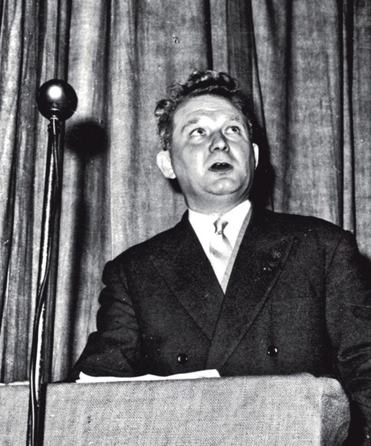 August Vanistendael, de vader van de auteur van dit stuk, was secretaris van de Internationale Christelijke Vakbond. Beeld Repro KADOC - KU Leuven