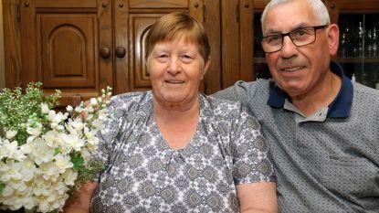 Jeannine en Pierre zijn vijftig jaar getrouwd