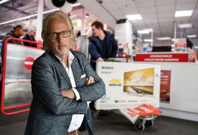 Ruud Buurman over de aanschaf van een nieuwe televisie.