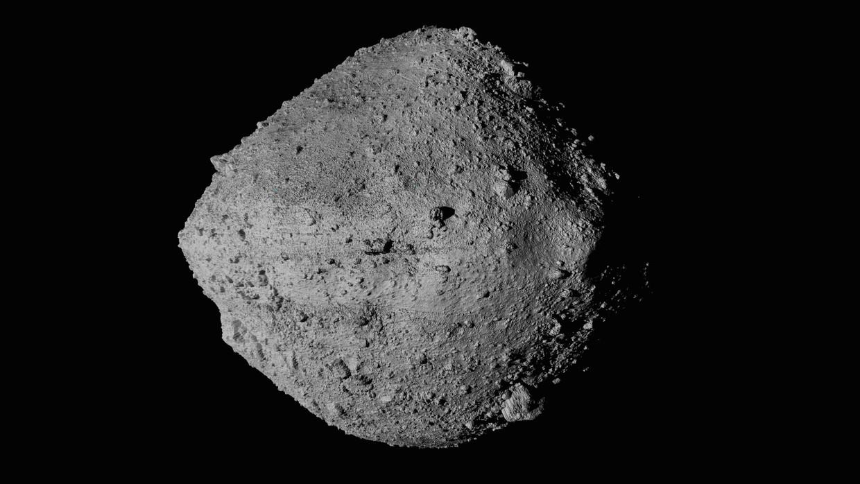 Planetoïde Bennu, gezien vanaf ruimtesonde OSIRIS-REx. Beeld AP