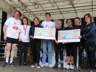 750 sportievelingen lopen 2.000 euro bijeen voor Back On Track