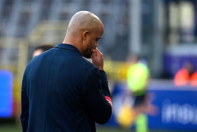 Coach Kompany n'avait pas encore connu la défaite à la maison.
