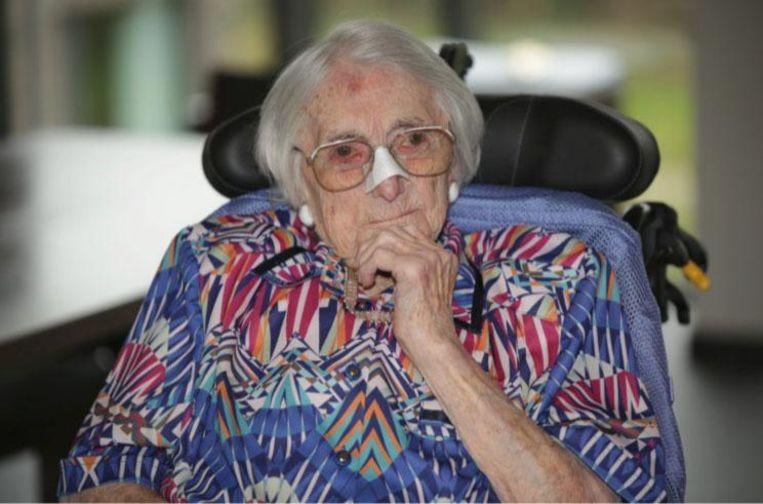Rachel Neyt is nu 108 jaar.