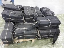 Autobanden dekmantel voor 400 kilo cocaïne, banden bestemd voor bedrijf in Moerdijk