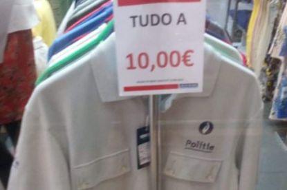 Voor 10 euro ben je in Portugal al een Belgische flik: afgedankte politiekleding te koop