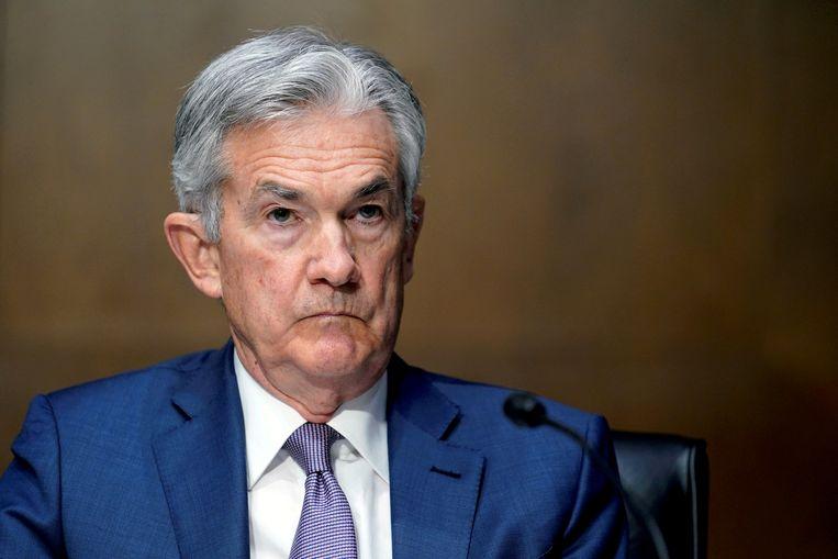 Fed-baas Jerome Powell. Beeld REUTERS