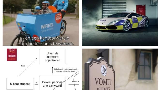 1 april: nieuwe politiebolide jaagt op Antwerpse straatracers, Stonehenge wordt afgebroken, alcoholverbod voor Leuvense studenten vanaf 20°C