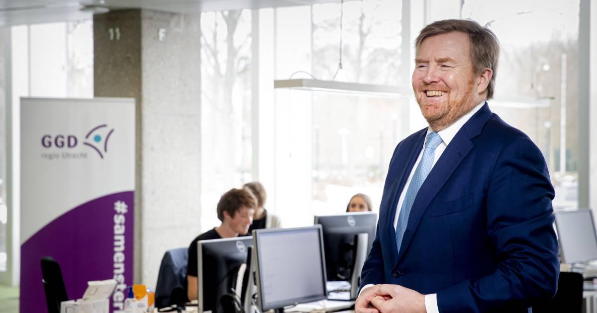 Koning Willem-Alexander verbaasd over bellende bezorgde ouders - De Stentor