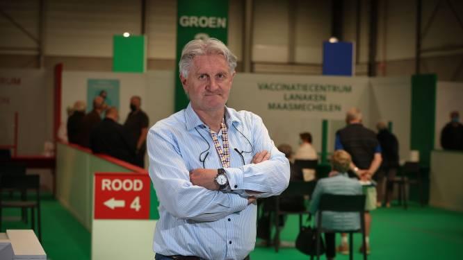 Sporting Hasselts TD Eric Eurlings beleeft drukke dagen als hoofd van het vaccinatiecentrum Lanaken-Maasmechelen