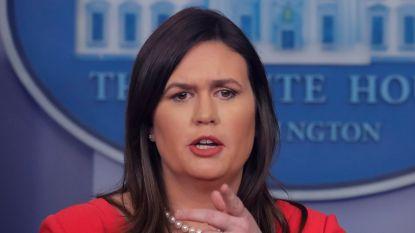 Sarah Sanders ondervraagd door speciaal aankager Mueller