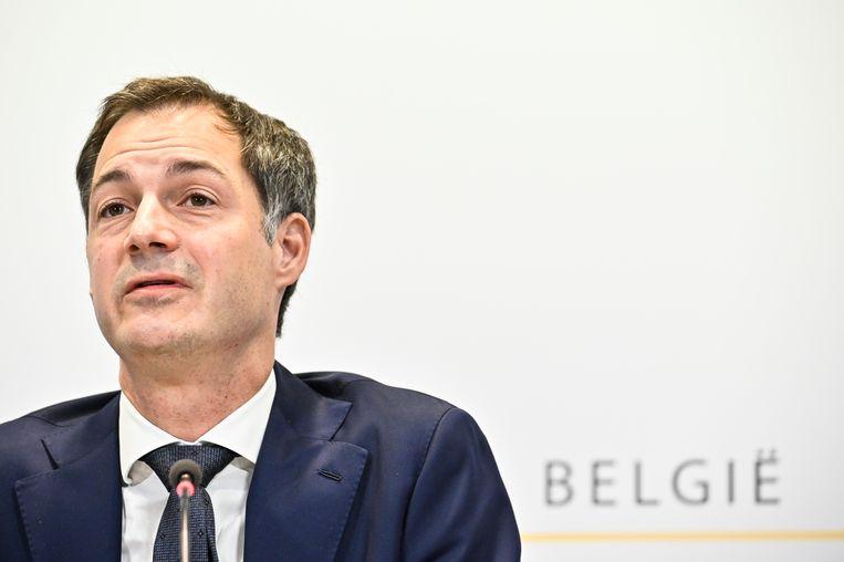 Grote versoepelingen zijn op het Overlegcomité van vrijdag nog niet aan de orde, zo maakte premier Alexander De Croo (Open Vld) maandag meermaals duidelijk. Nochtans is er de voorbije weken flink wat op tafel gekomen. Beeld BELGA