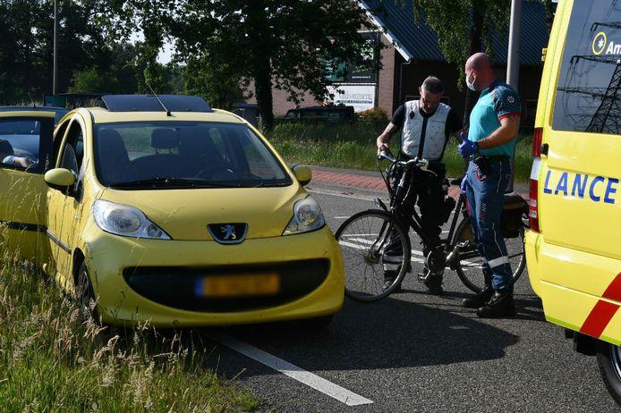 Het ongeluk gebeurde op de Usselerrondweg.