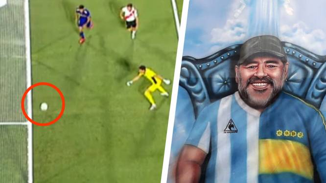 """""""De (onzichtbare) 'Hand van God'?"""": Boca Juniors ontsnapt op één of andere manier aan late tegengoal en nederlaag tegen rivaal River Plate"""