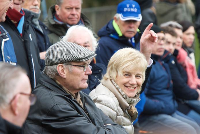 Burgemeester Agnes Schaap op bezoek bij Duno