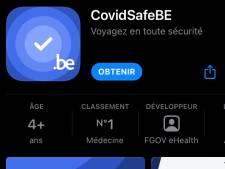 Plus simple et plus sécurisée, l'appli CovidSafeBE fait peau neuve