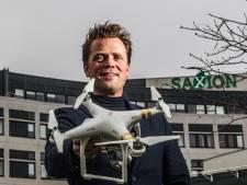 Nieuwe drone Saxion kan overal lichamen opsporen, zelfs onder de grond