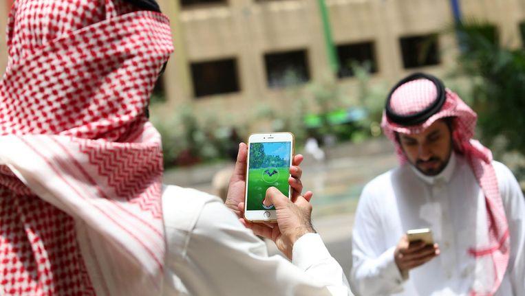 In Saudi-Arabië mag geen Pokémon Go meer worden gespeeld. Beeld anp