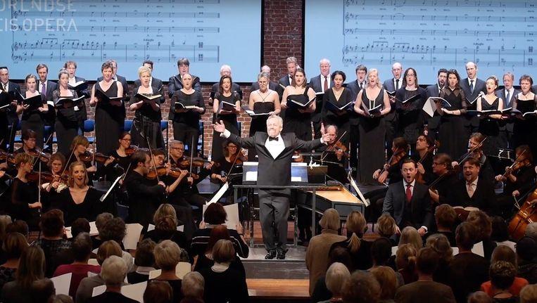 Duizenden zingen mee met Handels Messiah Beeld Carré
