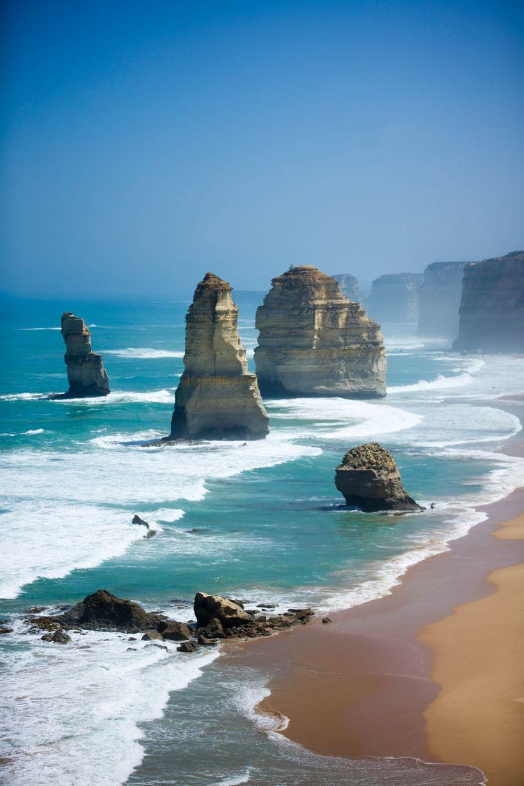 De fenomenale Twelve Apostles langs The Great Ocean Road.  Beeld Dieter Moeyaert