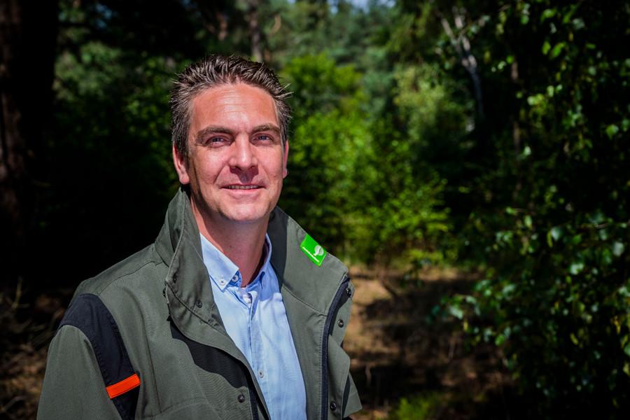 Hydroloog Rob van Dongen.