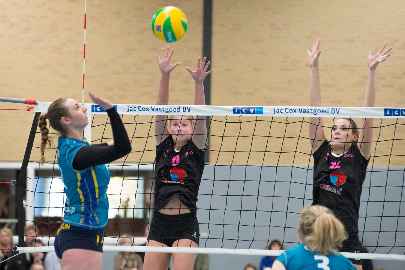 Eredivisie Volleybal: FAST Gennep - Peelpush Meijel.