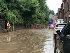 Éboulement près du casino de Namur, plusieurs maisons évacuées