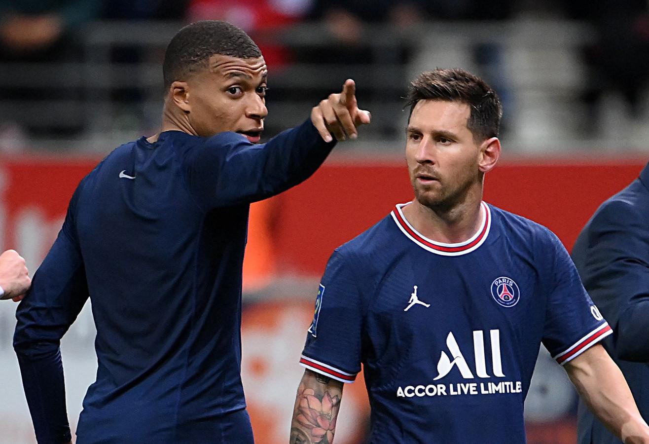 Kylian Mbappé en Lionel Messi.