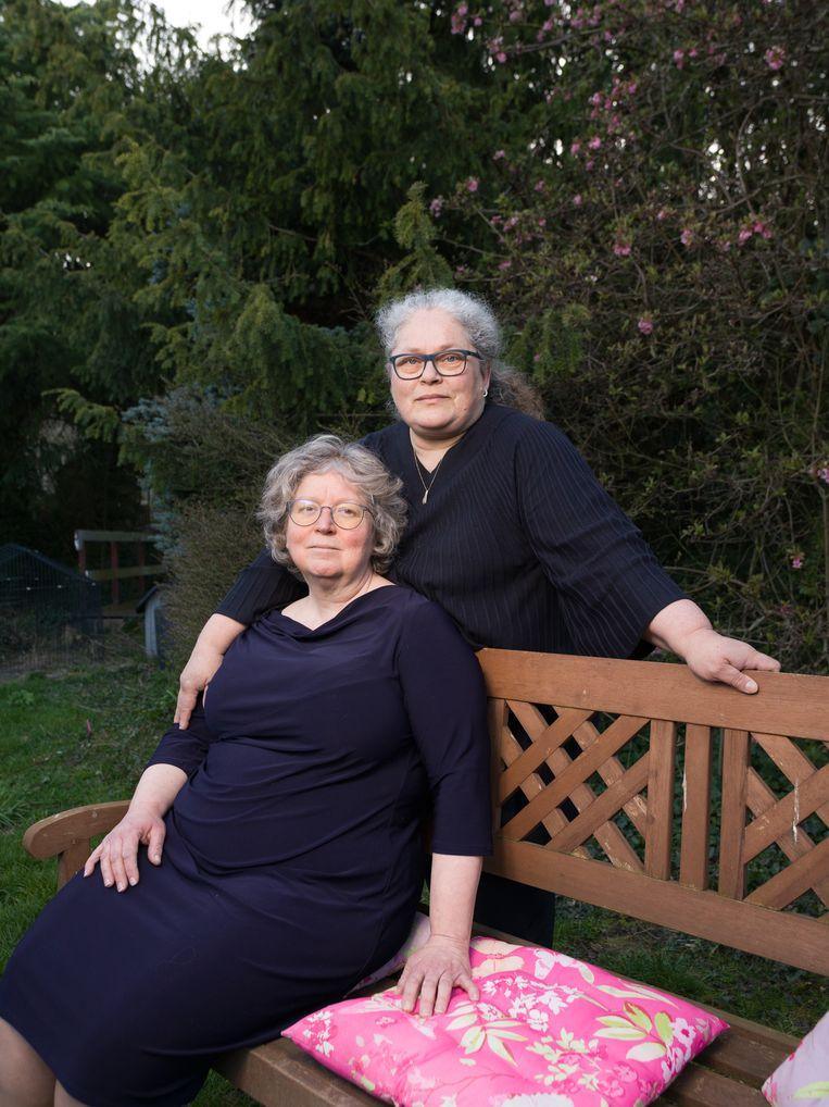 Helene and Anne Marie. Beeld Ivo van der Bent