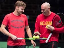 Man in vorm Goffin vindt Frankrijk favoriet in Davis Cup