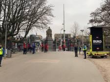 Gemeente sluit Vondelpark af, weer 'te druk'