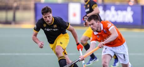 Hockeyers HC Den Bosch kunnen snelle voorsprong niet over de streep trekken in eerste duel play-offs